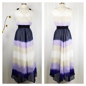 Express | Ombre Surplice Maxi Dress